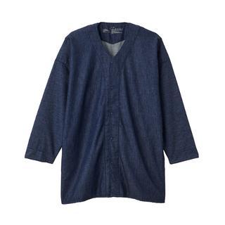 画像: 【無印良品調査隊①】おすすめはインディゴ染めのダボシャツ!ゆるく着られてキチンと見える春アウター