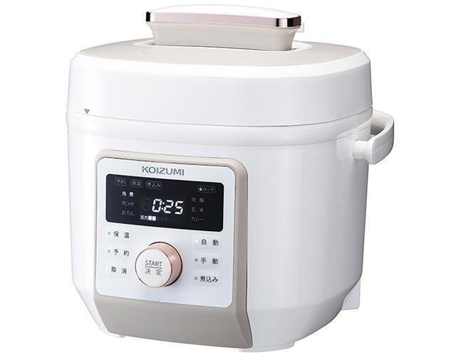 画像: お手軽!電気調理鍋を使ってみました! コイズミ「KSC-4501」