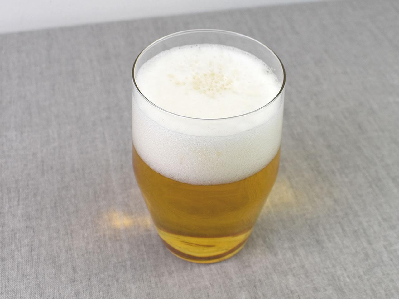 画像: ビール党必見の「薄GLASS」