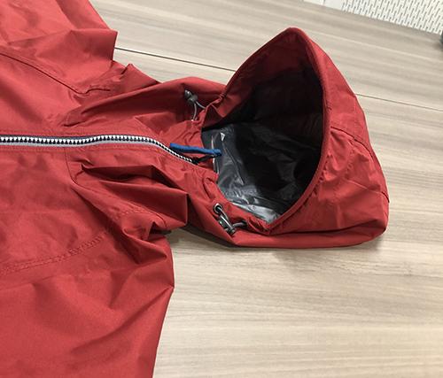 画像3: 注目②リュックが濡れないレインジャケット