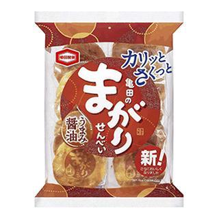 画像1: 【煎餅界の巨頭】亀田のまがりせんべいがリニューアル!ざらめの甘じょっぱさがパワーアップ!
