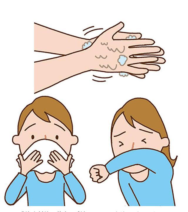 画像: 感染症対策の基本は手洗い、マスクなどのセキエチケット。