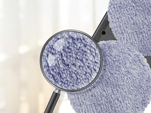 画像: マイクロファイバーで通常のコットンでは取れにくい塵や汚れも絡め取る。風呂の壁やキッチンのタイル磨きにも活用できる。