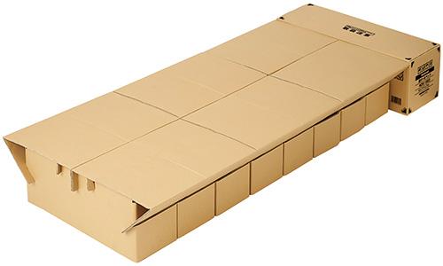 画像: 本体サイズ:W900×D1920×H300mm パッケージサイズ:W900×D340×H310mm(宅配便160サイズ) 重量:8.5㎏