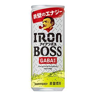 画像: 【サントリーBOSS】40代向けエナジードリンク「アイアンボス」GABA配合の炭酸飲料が新登場!