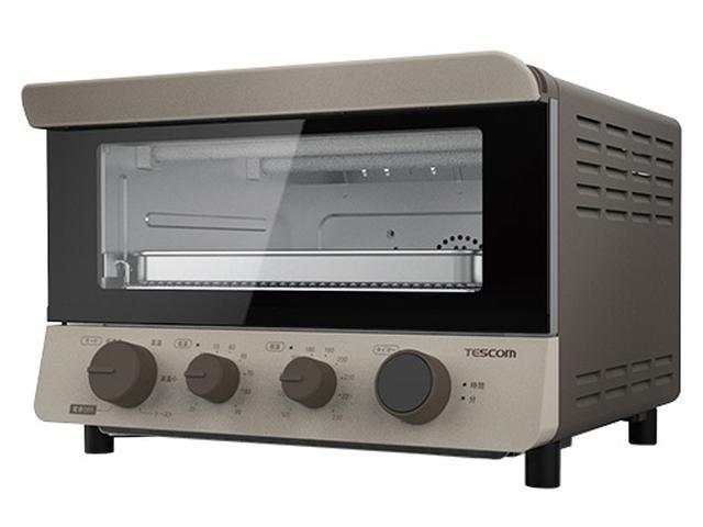画像: ◯サイズ/幅346㎜×高さ243㎜×奥行き395㎜ ◯重量/4.7kg ◯消費電力/1200W ◯温度調節幅/35~230℃