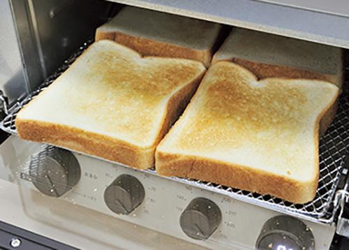 画像: トースト4枚は、5分で仕上がる。