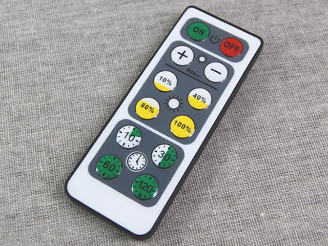 画像: ボタンの操作はとっても簡単!