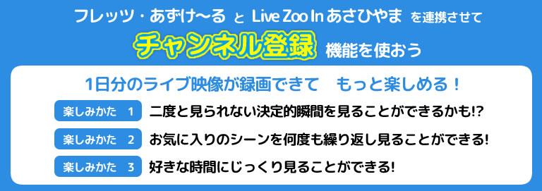 画像: Live ZOO in あさひやま