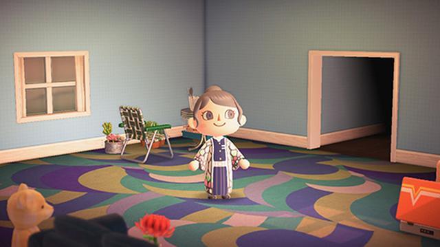 画像: 人気漫画「鬼滅の刃」の胡蝶しのぶちゃんのコスプレをしている宮本のアバター。