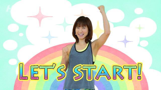 画像: 初中級エアロVol 11/田中咲百合/ホームフィットネス24 www.youtube.com