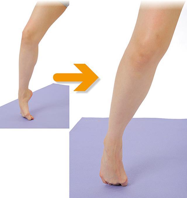 画像: 足指グーッと伸ばしのやり方