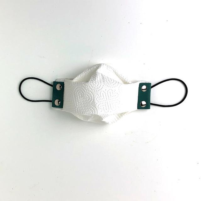画像: 布やキッチンペーパーで手作りマスクを作る 【洗える】マスクホルダーLoops (ループス) | マスクホルダー | [カワニシカバンプロダクト]公式通販サイト