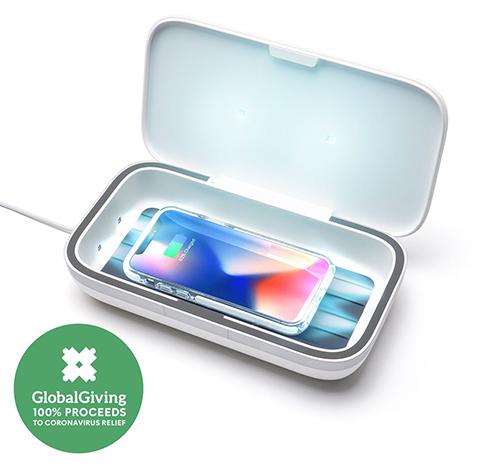 画像: 除菌と充電をまとめてこなせるスグレモノ! www.casetify.com