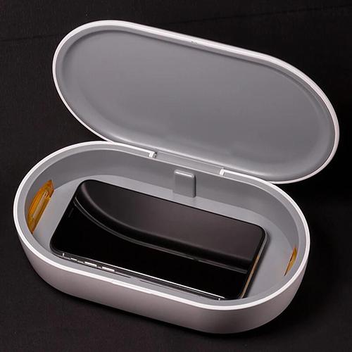 画像: ラウンドフォルムが優美なアロマ機能搭載のUV除菌器 gloture.jp