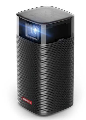 画像: 350ミリリットルの缶飲料ほどのコンパクトサイズ。Android OS搭載で動画サービスに対応。内蔵スピーカーは6ワット。