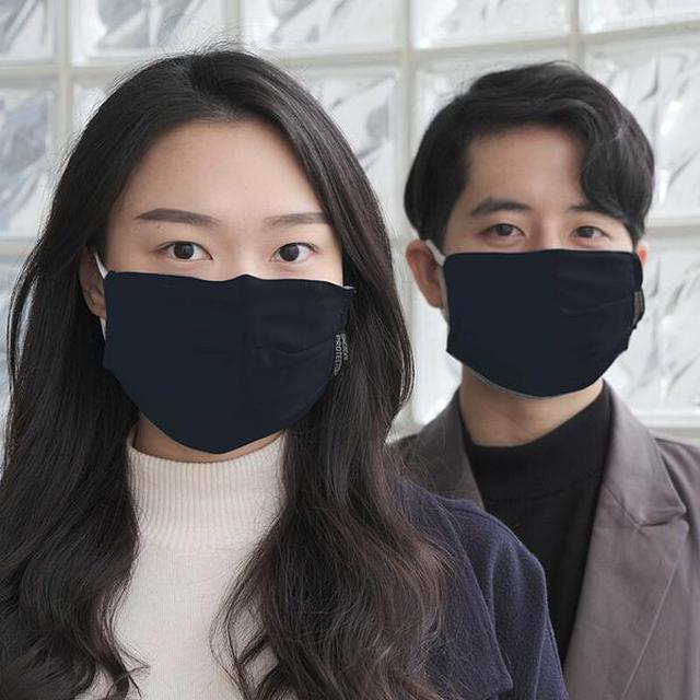 画像: 【2枚入】ハイテク繊維で進化!最強のマスクカバー SINGTEX PROTECTOR+【抗菌 防臭 速乾 洗濯可】