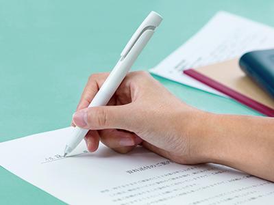 画像: 使用時のわずかな振動を軽減し、ストレスなく書ける