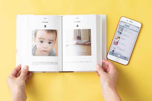 画像: ごくありふれた毎日の場面を、一冊の物語に。 baby365.jp