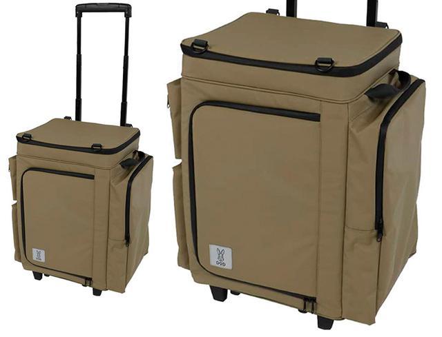 画像: 食材と調理道具をまとめて運搬できる冷蔵庫スタイルのクーラー
