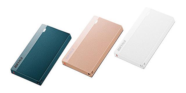 画像: バッファロー SSD-PSMU3シリーズ
