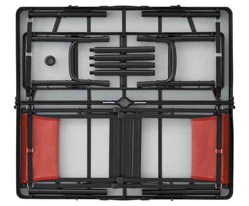 画像: コンパクトに収納でき、重さも約8.6キロと軽量なので、運びやすい。