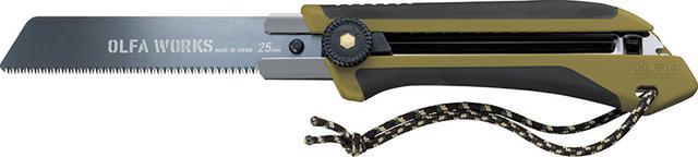 画像: カッターでおなじみのオルファが手がけるノコギリ刃ナイフ