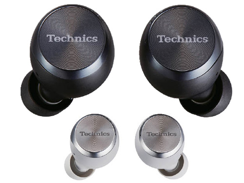 画像: ロゴのあるプレート部分がタッチセンサーになっていて、アンテナと共用することで小型化を実現。カラーは、ブラックとシルバーをラインアップ。