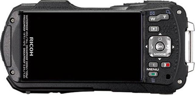 画像: 16対9比率の液晶モニターを搭載。ちなみに、顕微鏡モードでは16対9の記録設定しか選択できない。右手側の各操作ボタンの配置は少々窮屈さを感じる。