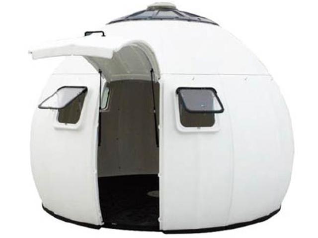 画像: 医療現場での活用例も。さまざまなシーンで活躍できる簡易ドームハウス