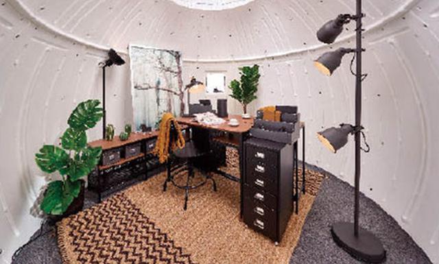 画像: 家具量販店のIKEAがポータブルオフィス用のインテリアをコーディネート。上記のプランは15万1600円。