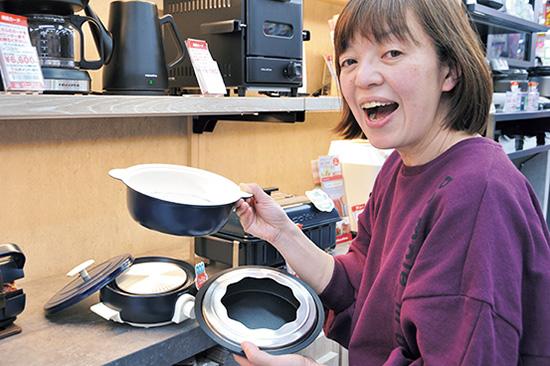 画像: セラミックコーティングの鍋は熱伝導率も◎。