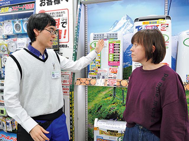 画像: 防犯や花粉症などで外に洗濯物を干せない人が購入。「ムーブアイのやつ、ちょうだい」といった指名買いも多い。