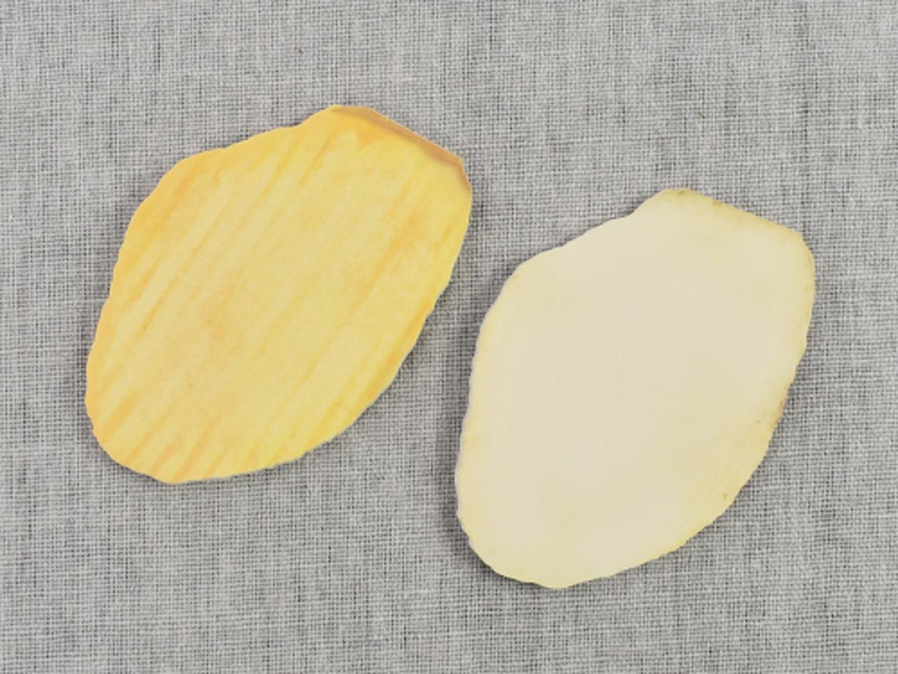 画像: ポテトチップスの凹凸が超リアル!