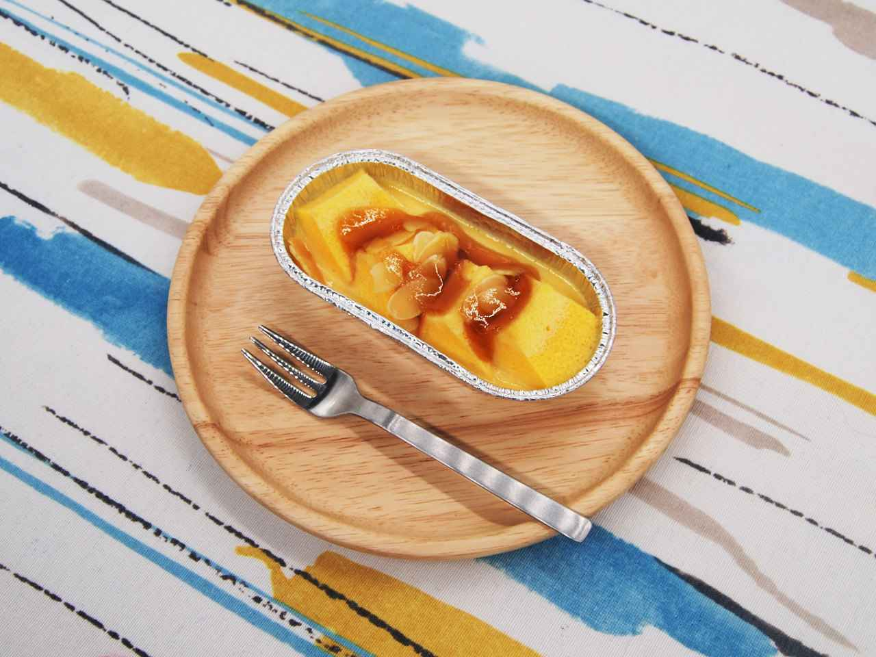 画像: ふわふわで甘い「しみとろプリンケーキ」