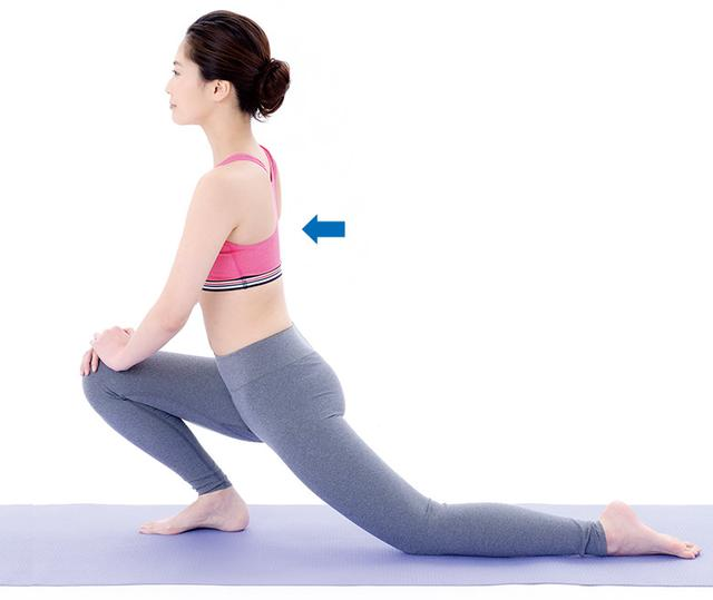 画像3: 3. 腸腰筋ストレッチ