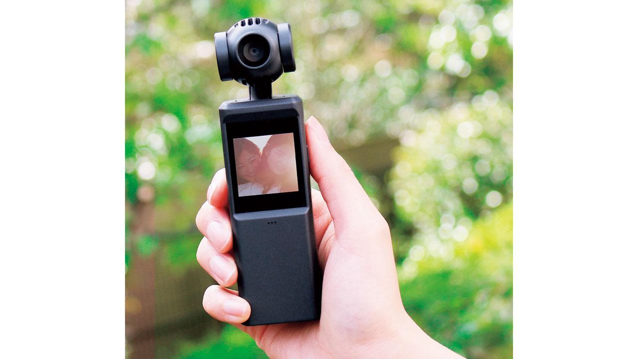 画像: 【HACRAY】3軸スタビライザーを搭載したブレや動きに強い4Kカメラ
