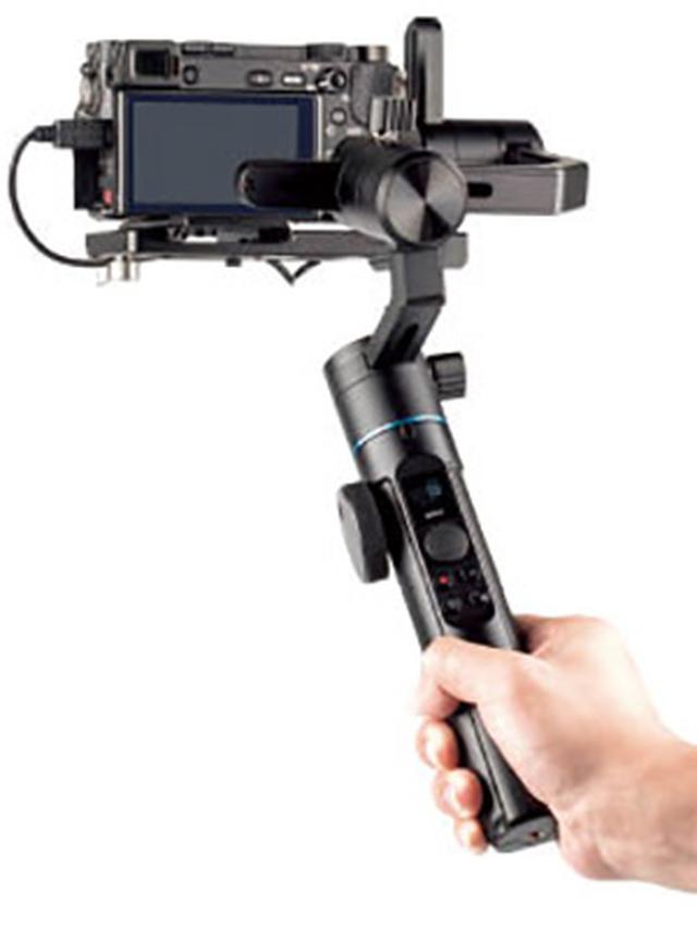 画像1: 【SIRUI】ブレを抑えて安定した映像を実現する電動3軸スタビライザー