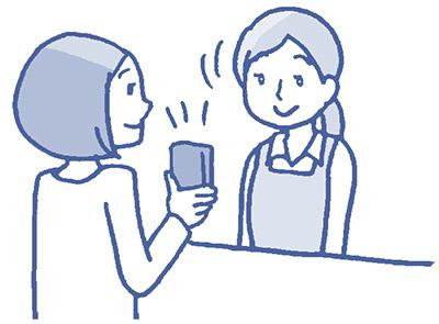 画像12: シンプルな2種類の支払い方。会計時間も現金より早い!