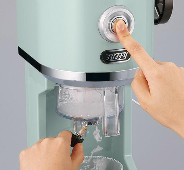画像: Toffy 電動ふわふわかき氷器、コンパクトかき氷器