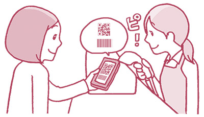 画像7: シンプルな2種類の支払い方。会計時間も現金より早い!