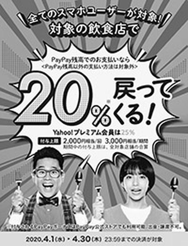 画像: 例:2020.4.1〜4.30まで行われたキャンペーン