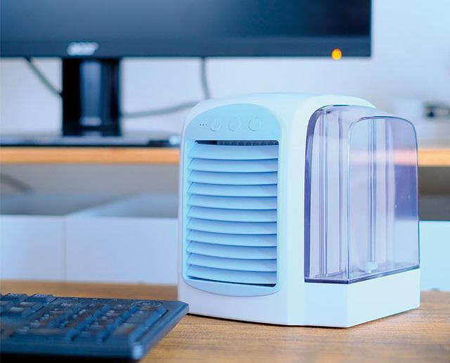 画像2: ミヨシ USB冷風扇 USF-16