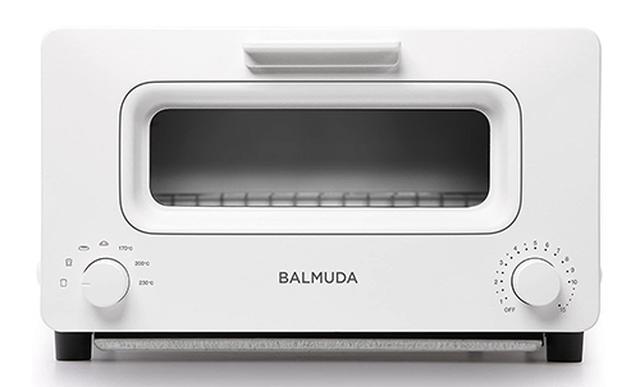 画像: スチーム+オーブントースターの「BALMUDA K01E-WS」 www.amazon.co.jp