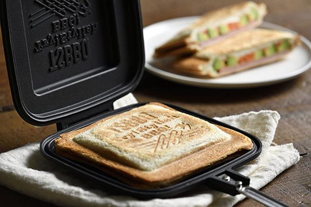 画像: 燕三条製のホットサンドメーカー「TSBBQ-004」 www.amazon.co.jp