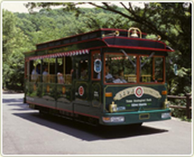 画像: 旧型車両のシャトルバス www.tokyo-zoo.net