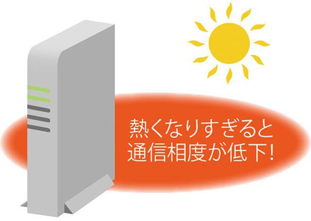 画像: ある程度の発熱は問題ないが、熱がたまって熱くなりすぎるようだと通信速度にも悪影響を及ぼす。