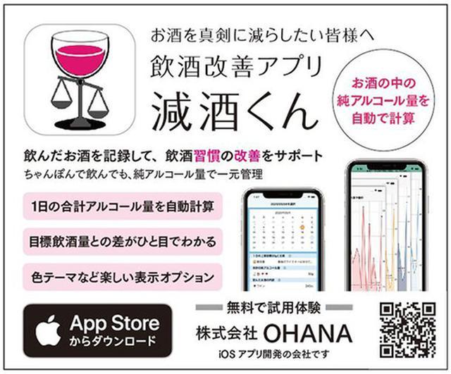 画像: 減酒用アプリ「減酒くん」を知ってる?