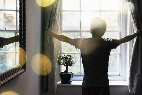画像: 朝のストレッチを習慣にすることで、その日の体調を把握できるようになった
