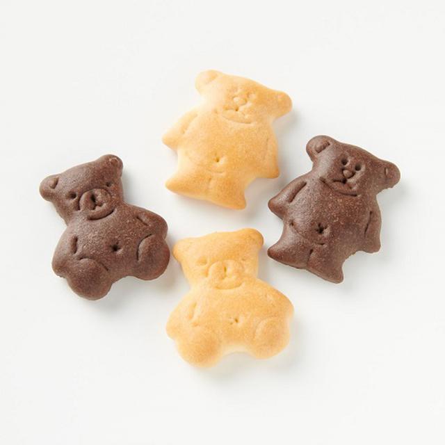 画像: 食べるのがもったいないくらい可愛い「てんさい糖ビスケット」 www.muji.com